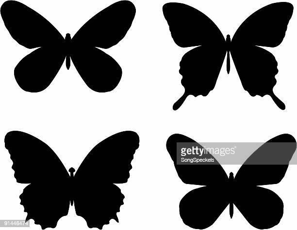 Butterfly Slhouettes