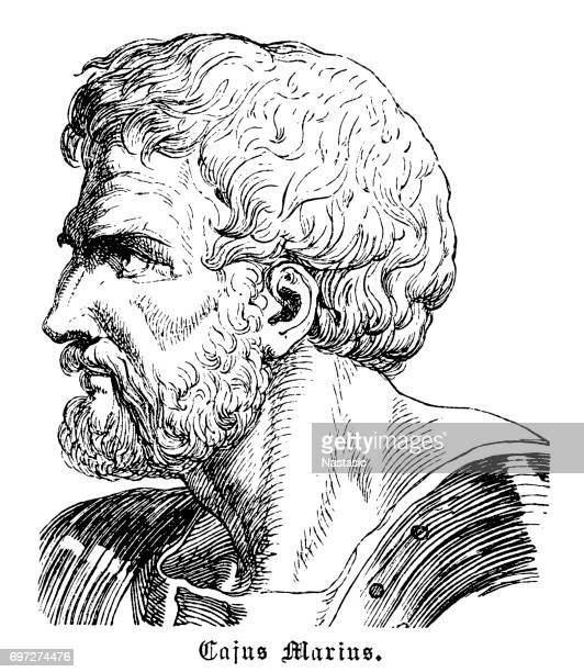 caius marius, 157-86 b.c. - greek people stock illustrations, clip art, cartoons, & icons
