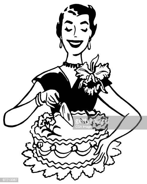 cake - cake stock illustrations