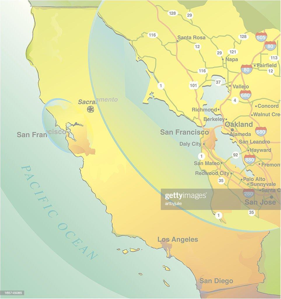 California Map With San Francisco Bay Area Inset High-Res ... on sacramento california map, santa barbara california map, berkeley california map, pomona california map, omaha nebraska map, palo alto california map, lincoln highway california map, soledad california map, huntington beach california map, imperial valley california map, highway 101 map, northern california map, washington dc map, el paso texas map, carmel california map, la california map, los angelos california map, los angeles california map, seattle washington map, big sur california map,