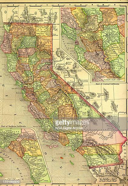 California Old Map