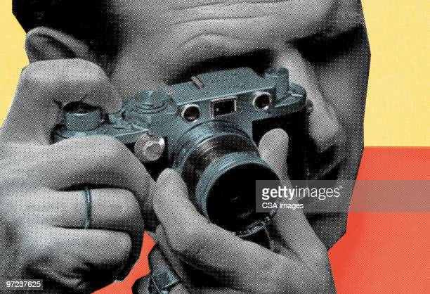 camera - film crew stock illustrations