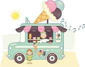 Camion à glace