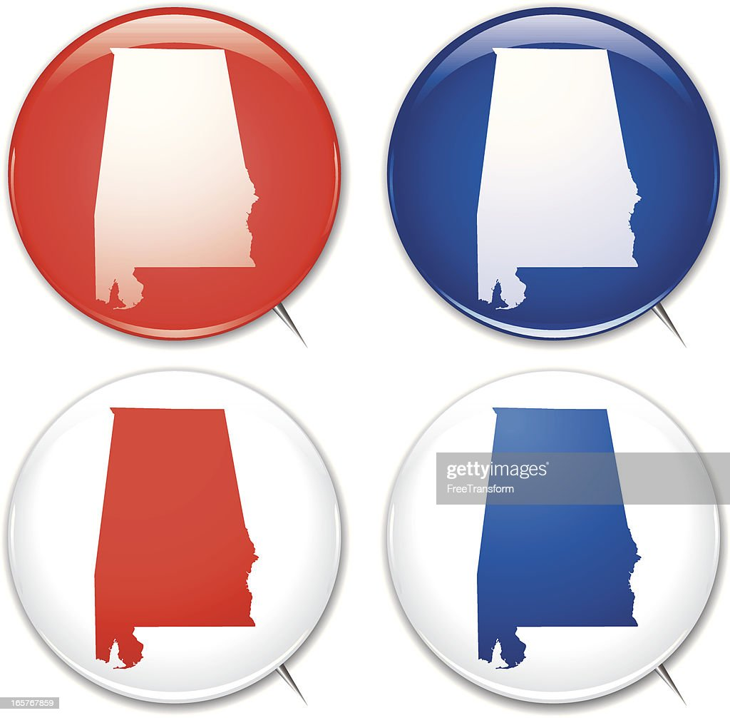 Campaign Buttons - Alabama