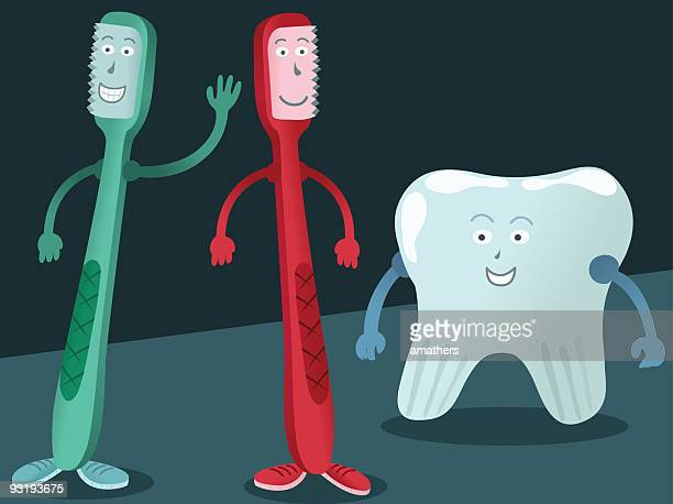 can i be your friend? - electric toothbrush stock illustrations
