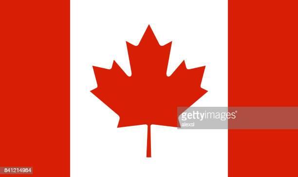 canada flag - canadian flag stock illustrations