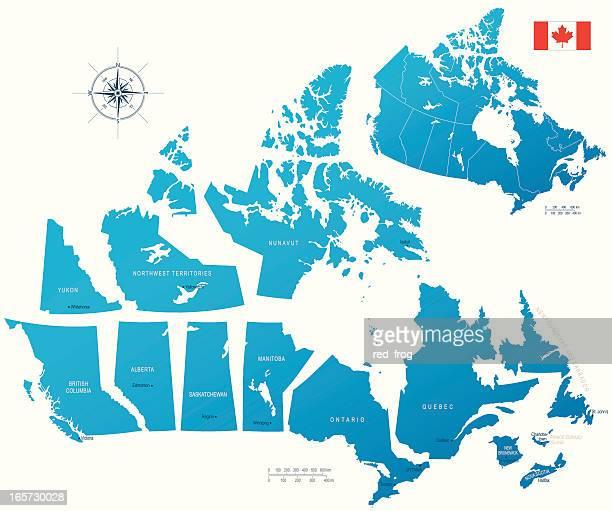 Kanada, Provinzen und Territorien