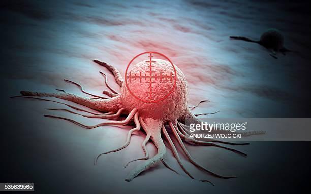Cancer cell, artwork