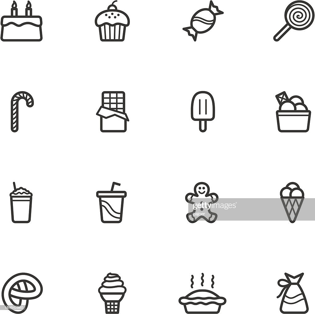 Candy and Pastry Icons