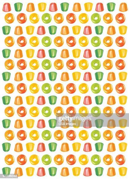 ilustrações de stock, clip art, desenhos animados e ícones de candy pattern - doce