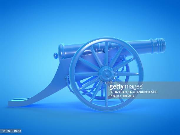 cannon, illustration - history stock illustrations