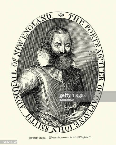 ジョン ・ スミス船長、エクスプ ローラー - 17世紀点のイラスト素材/クリップアート素材/マンガ素材/アイコン素材
