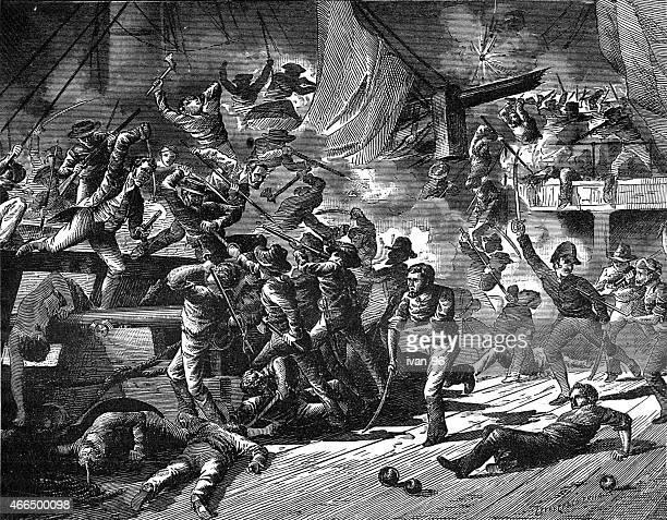 Captain Paul Jones, Captures the Serapis