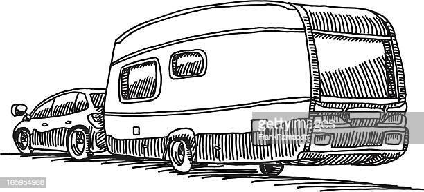 Auto Caravan Camping Wohnwagen