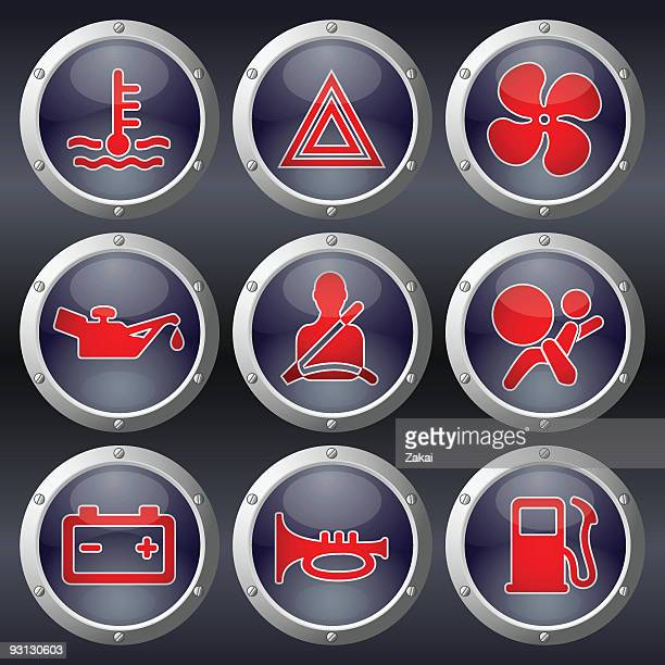 Car Dashboard Buttons