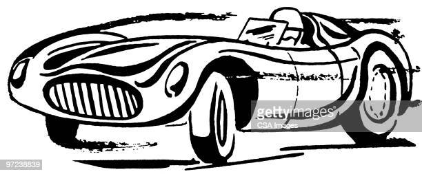 car - rapid stock illustrations