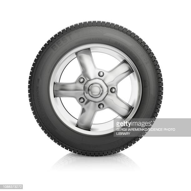 car wheel, illustration - wheel stock illustrations, clip art, cartoons, & icons
