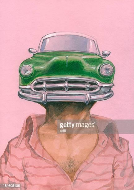 car_man - セールスマン点のイラスト素材/クリップアート素材/マンガ素材/アイコン素材