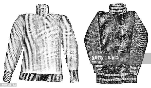 cardigan sweater - sweater stock illustrations, clip art, cartoons, & icons
