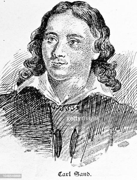 カール砂、ドイツの友愛のメンバー、殺人者 8 月フォン Kotzebue 8 月フォン Kotzebue (1818 年) 8 月フォン Kotzebue、ドイツの作家、1761-1819