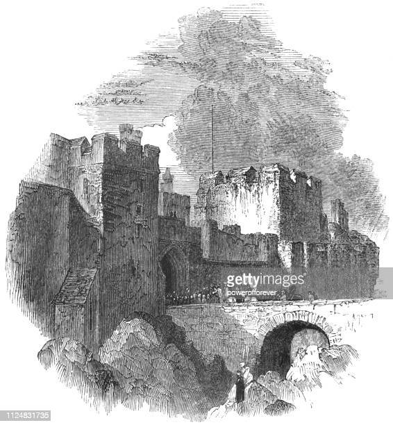 Carlisle Castle in Carlisle, Scotland - 17th Century
