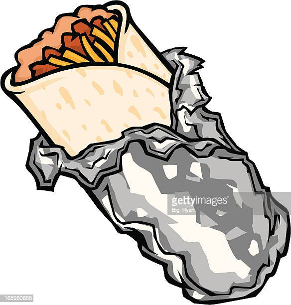 cartoon burrito - mexican food stock illustrations, clip art, cartoons, & icons