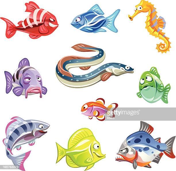 ilustrações de stock, clip art, desenhos animados e ícones de mulher peixe - cavalo marinho