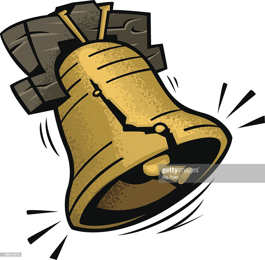 cartoon liberty bell