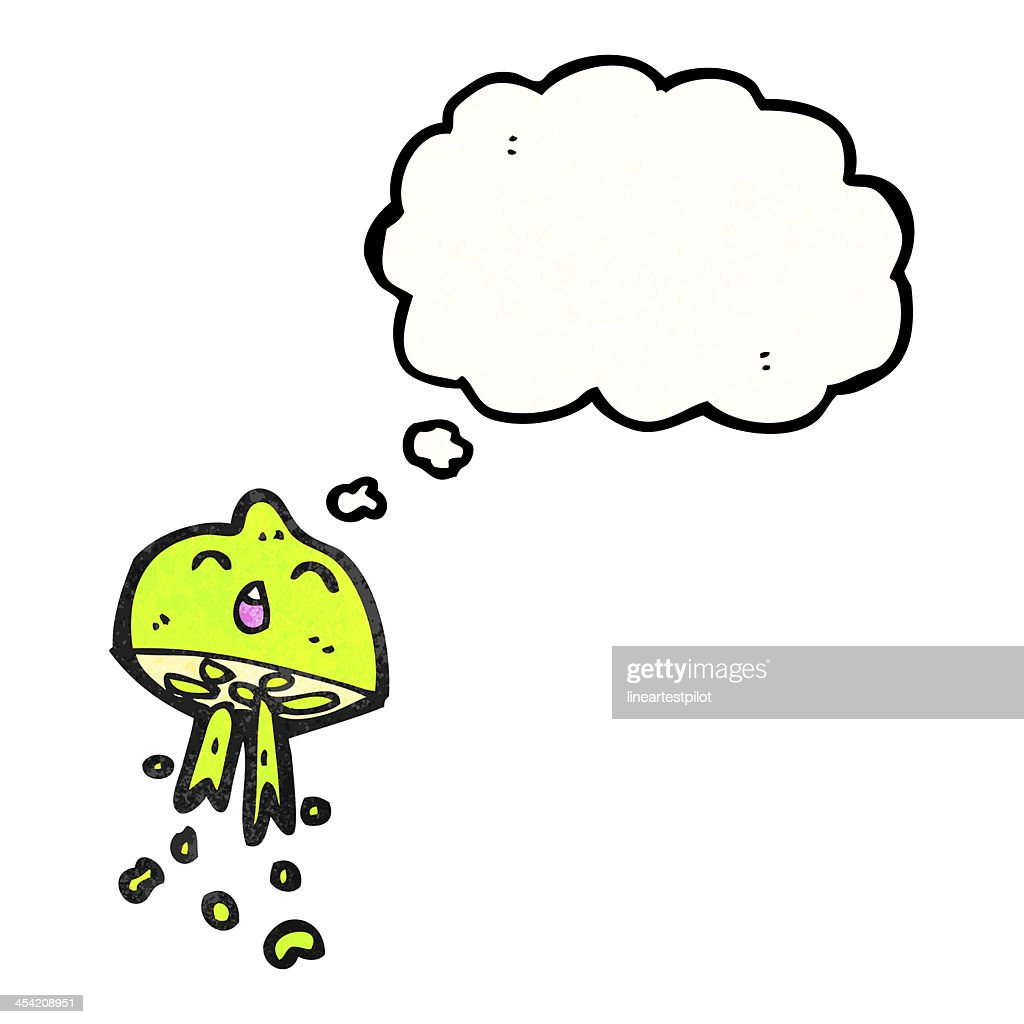 cartoon lime squirting : Stock Illustration