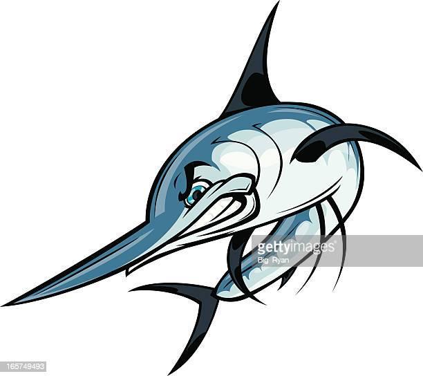 cartoon marlin