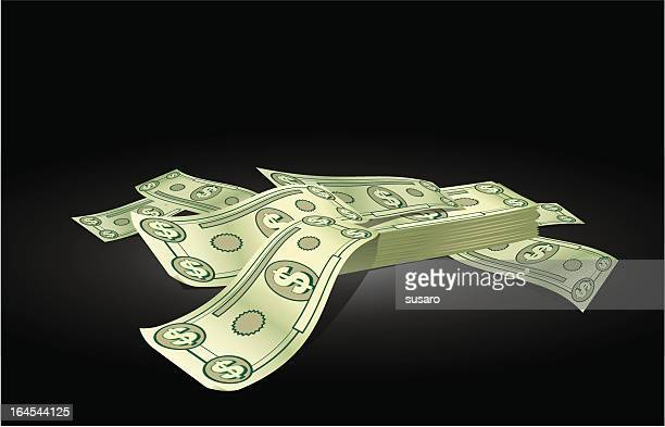 cartoon money - stretched image stock illustrations, clip art, cartoons, & icons