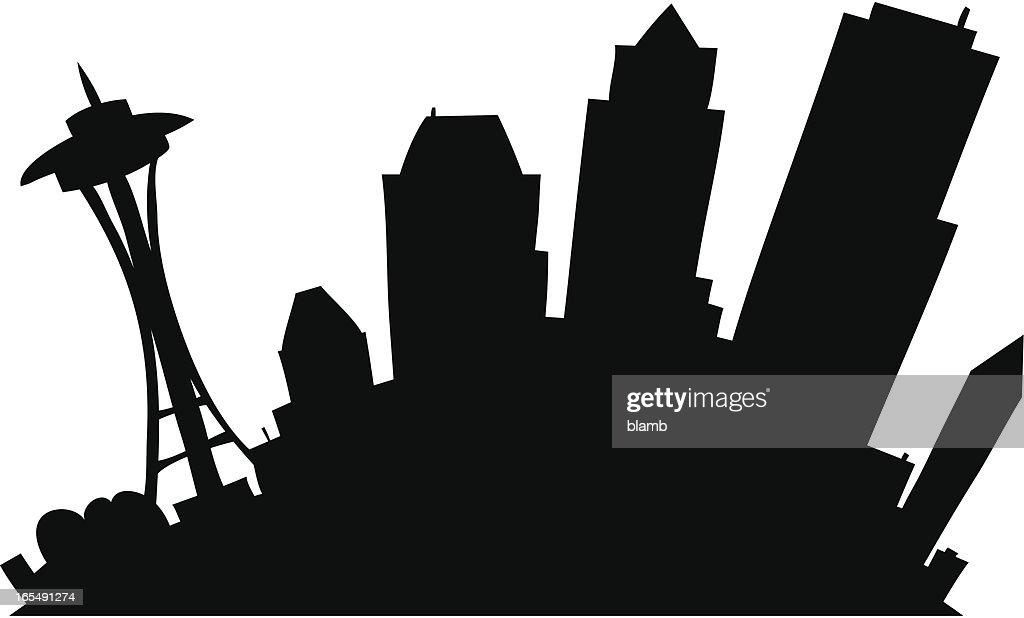 Cartoon Seattle