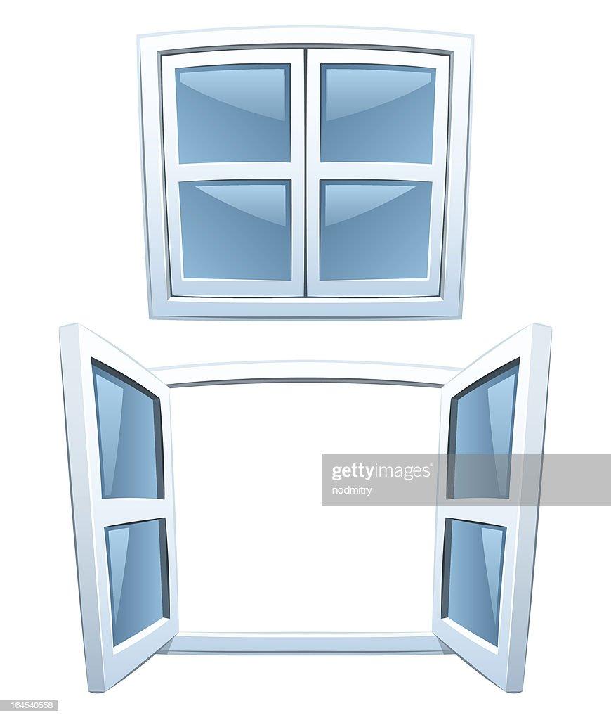 Cartoon windows