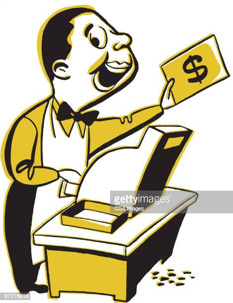 Cashier Cartoons: Bank Counter Stock Illustrations And Cartoons