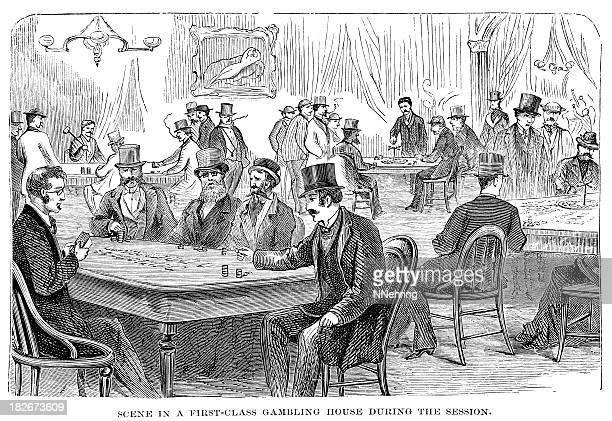 casino in Washington DC 1873 engraving