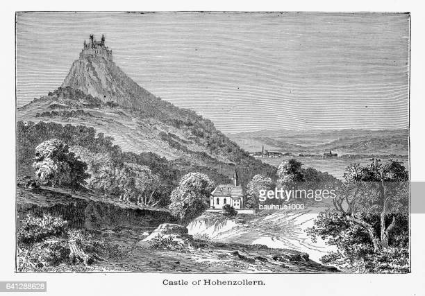 Castle of Hohenzollern,Danube Valley, Germany Circa 1887