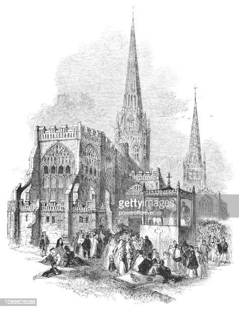 Cathedral Church of St Michael and Holy Trinity Church in Coventry, England