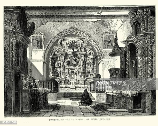 Cathedral of Quito, Ecuador,  19th Century