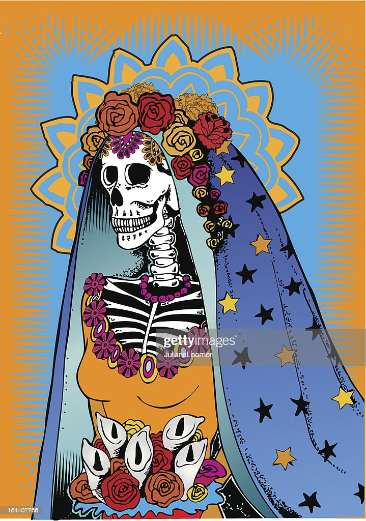 Catrina from Day of the Dead celebration.
