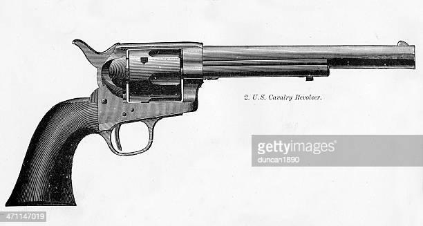 U S Cavalry Revolver
