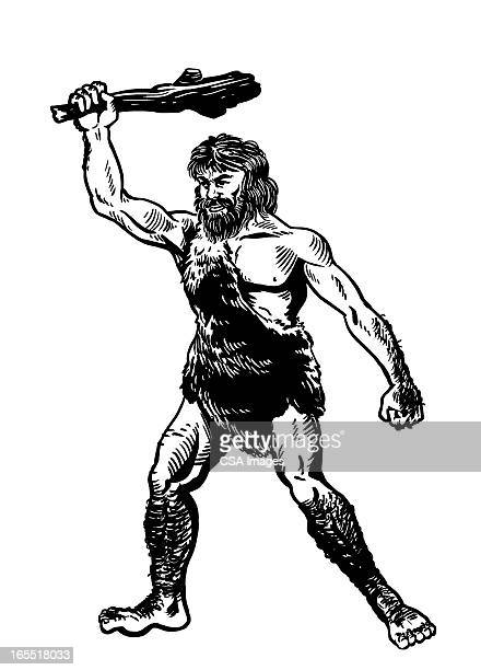 Caveman with a Club