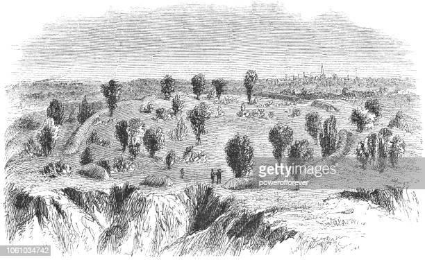 Cayugan Fort near Auburn in Cayuga County, New York, USA