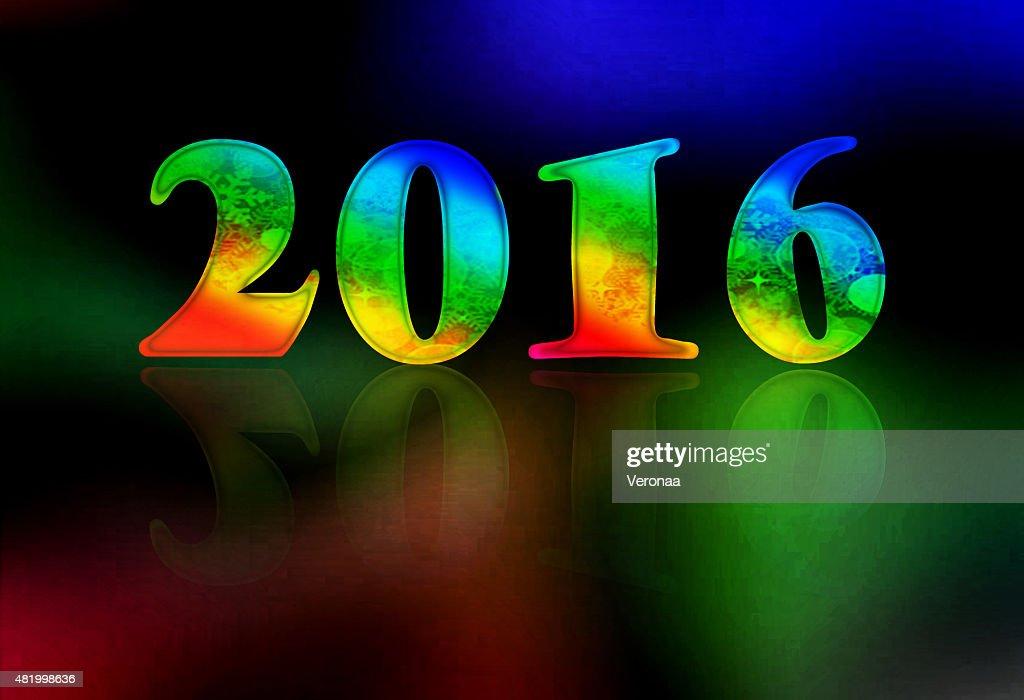 Celebrating the New Year : Stock Illustration