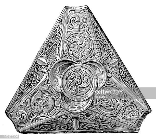 ノルウェーで見つかったケルトの装飾品 - ケルト風点のイラスト素材/クリップアート素材/マンガ素材/アイコン素材