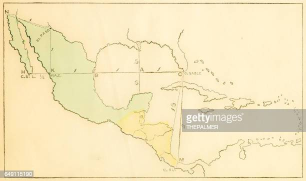 Central America and West Indies map 1875
