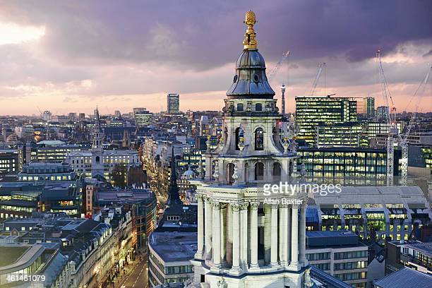 Central London from St Paul's cathedral