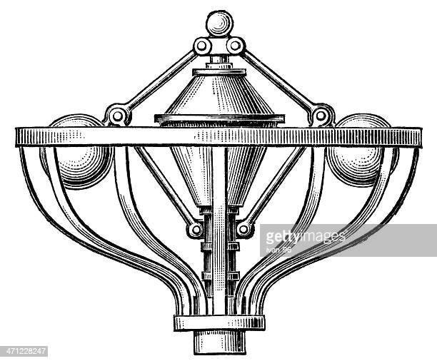 centrifugal governor - governor stock illustrations, clip art, cartoons, & icons