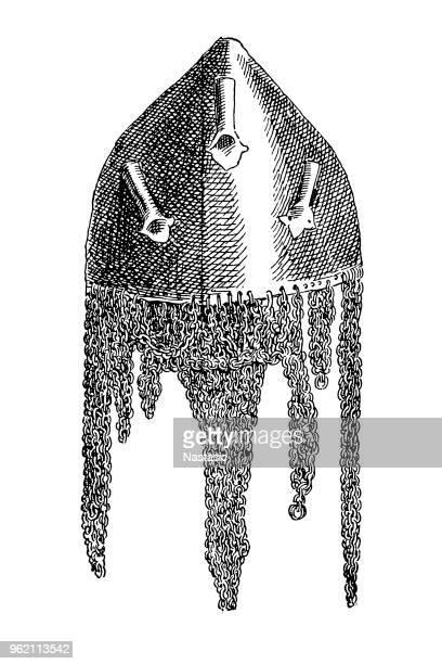 XV. le siècle casque de Sainte Irène de Constantinople