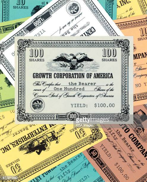 certificates pattern - stock certificate stock illustrations