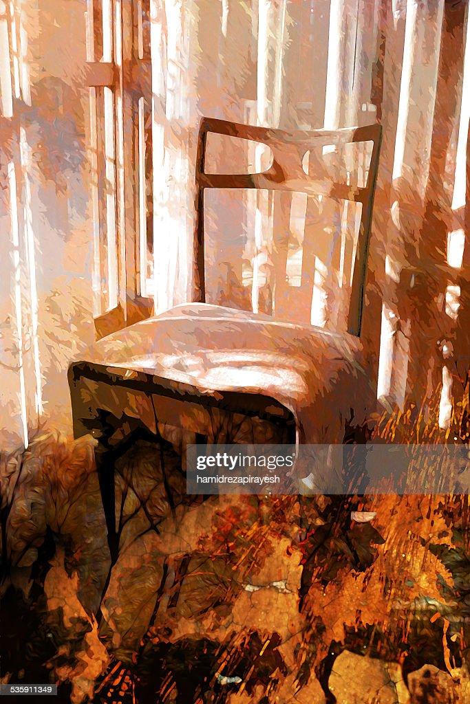Cadeira : Ilustração de stock